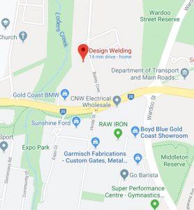 google-map-welder-gold-coast